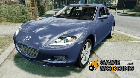 Mazda RX-8 Light Tuning для GTA 4