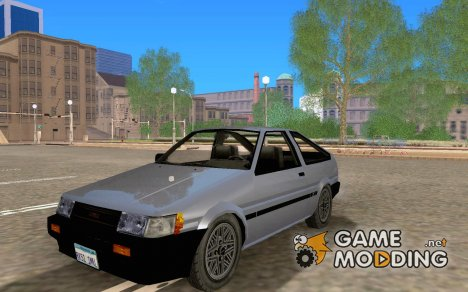 Toyota Corolla AE85 Levin GT-Apex for GTA San Andreas
