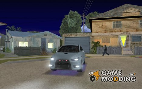 Улучшенная синяя неоновая подсветка для GTA San Andreas