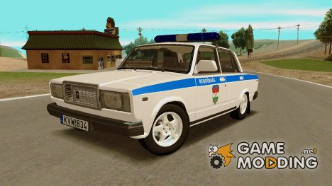 Ваз  2107 Rendőrség для GTA San Andreas