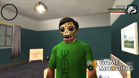 Маска инопланетянина v2 (GTA Online) для GTA San Andreas