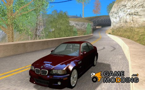BMW M3 GT-R Stock for GTA San Andreas