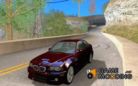 BMW M3 GT-R Stock для GTA San Andreas