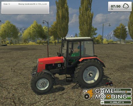 МТЗ 1025.2 для Farming Simulator 2013