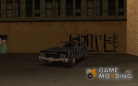 Сабля Белая Зебра для GTA San Andreas