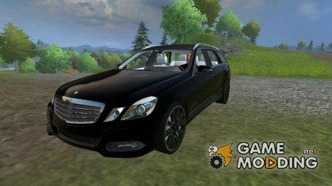 Mercedes-Benz E-class v 2.0 для Farming Simulator 2013