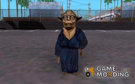 Йода из Star Wars KOTOR 2 для GTA San Andreas
