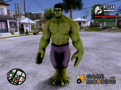 Hulk Avengers Age of Ultron для GTA San Andreas