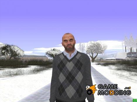 Skin HD GTA V Тревор в кофте for GTA San Andreas