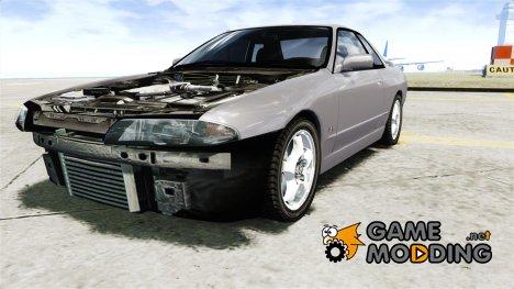Nissan Skyline R32 GTS-t 1989 для GTA 4