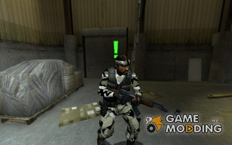 Urban / Desert Guerillla (With Sleeves) for Counter-Strike Source
