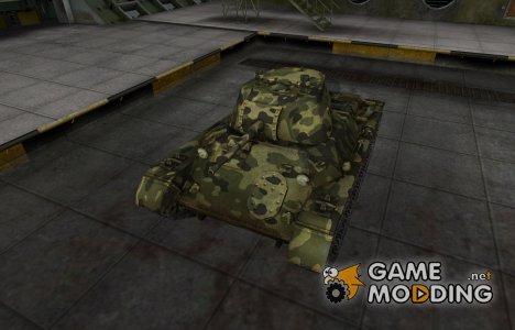 Скин для Т-127 с камуфляжем для World of Tanks