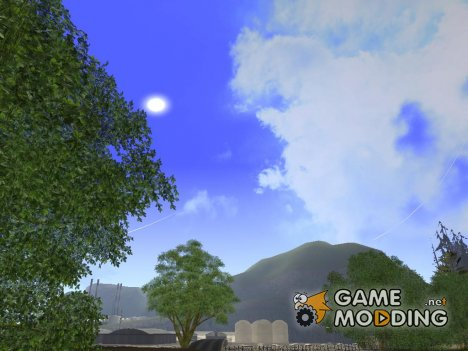 SkyBox Arrange - Real Clouds and Stars для GTA San Andreas