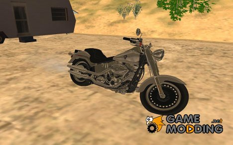 Harley-Davidson Fat Boy Lo FLSTFB/FLSTF 2010 for GTA San Andreas