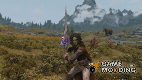 Final Fantasy 13 2 Serah Weapon Starseeker for TES V Skyrim