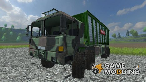 MAN GL 10T v 0.9 Silage для Farming Simulator 2013