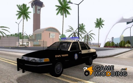 Florida State Trooper Ford CV '94 для GTA San Andreas