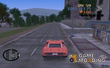Новая растительность for GTA 3
