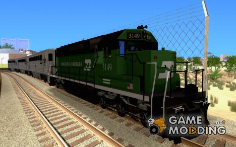 Локомотив SD 40 Union Pacific Burlington Northern 3149 для GTA San Andreas