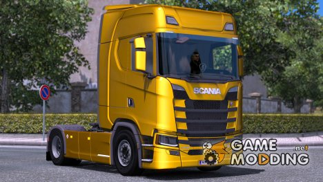 Scania S730 With interior v2.0 for Euro Truck Simulator 2