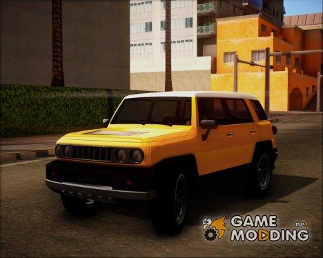 Karin BJ XL HQLM GTA V для GTA San Andreas