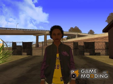 Ballas Girl 3 (GTA V) для GTA San Andreas