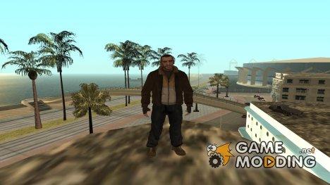 Главные герои из разных частей GTA (By Luntik) для GTA San Andreas