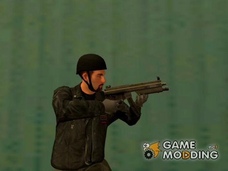 MP5 Grand Theft Auto 4 for GTA San Andreas