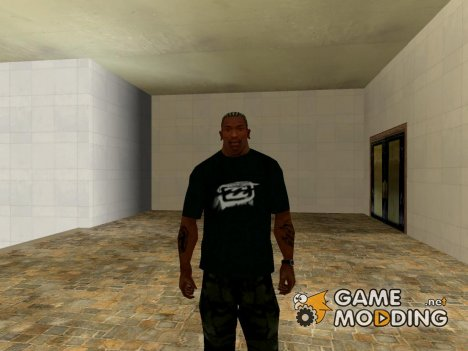 Billabong T-shirt для GTA San Andreas