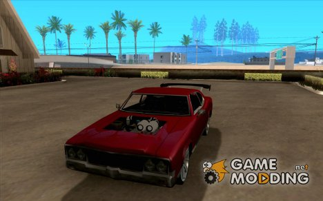 Sabre Remodel And Light Tuning для GTA San Andreas