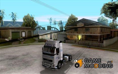 Volvo FH16 Globetrotter GAZEAU for GTA San Andreas