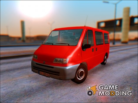 Fiat Ducato Mk2 1999 for GTA San Andreas
