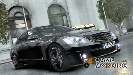 Mercedes-Benz Brabus SV12 R Biturbo 800 2011 Black Edition для GTA 4