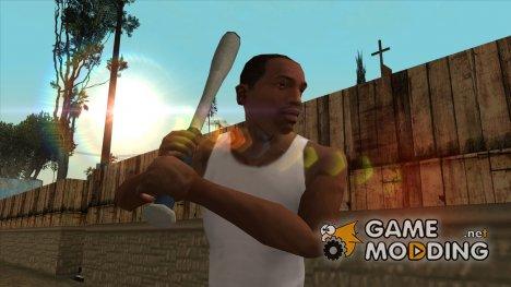 HQ Бейсбольная бита (With HD Original Icon) для GTA San Andreas