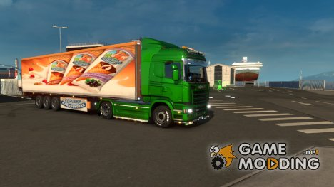 Mod Ice Cream v.1.0 for Euro Truck Simulator 2