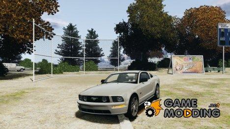 Ford Mustang GT 2005 v1.2 для GTA 4