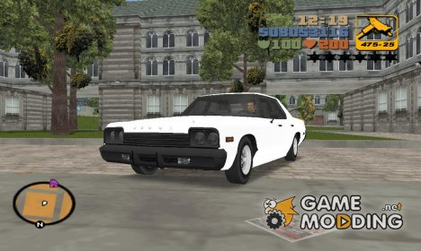 "Dodge Monaco V10 ""TT Black Revel"" для GTA 3"