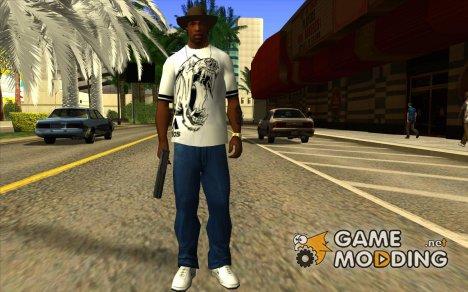 Футболка Adidas Crazy Dog для GTA San Andreas