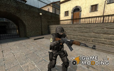 Grey Spetsnaz v2 для Counter-Strike Source