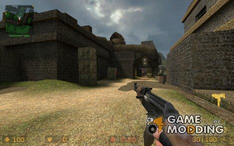 Gangsta' AK для Counter-Strike Source