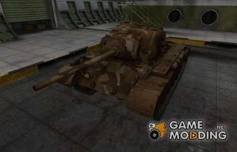 Шкурка для американского танка M26 Pershing для World of Tanks