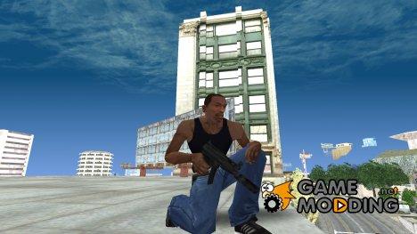 MP5K Silenced SA Style for GTA San Andreas