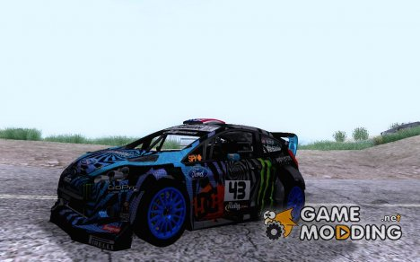 "Ford Fiesta ST RX43 2013 ""KEN BLOCK"" for GTA San Andreas"