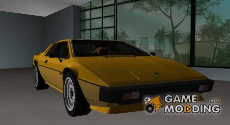 Lotus Esprit S3 1981 for GTA Vice City