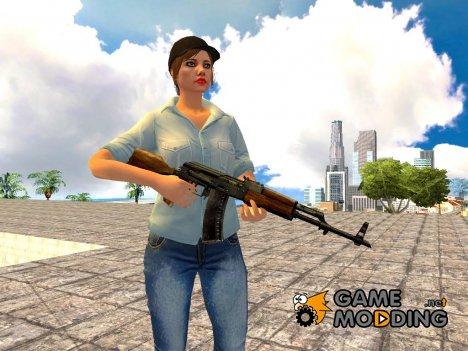 AK-47 Egyptian Maadi для GTA San Andreas