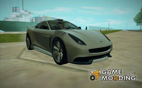 GTA V Dewbauchee Massacro for GTA San Andreas