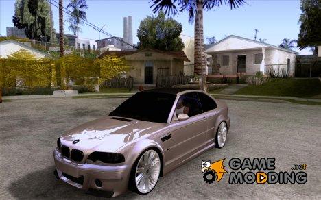 BMW M3 CSL E46 G-Power для GTA San Andreas