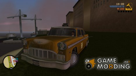 Cabbie HD для GTA 3