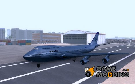 Iran Air Flugzeug for GTA San Andreas