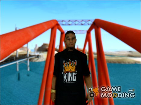 King Skin для GTA San Andreas